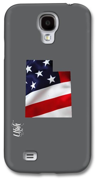 Utah State Map Collection Galaxy S4 Case