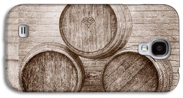 Wine Barrels At Mission Point Lighthouse Michigan Galaxy S4 Case by LeeAnn McLaneGoetz McLaneGoetzStudioLLCcom