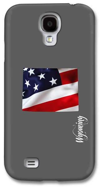 Wyoming State Map Collection Galaxy S4 Case by Marvin Blaine