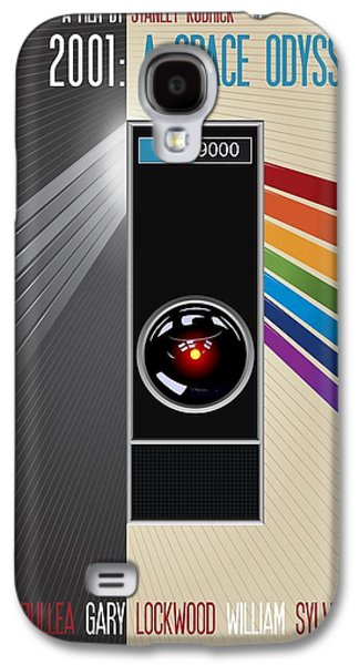 2001 A Space Odyssey Poster Print - No 9000 Computer Has Ever Made A Mistake Galaxy S4 Case