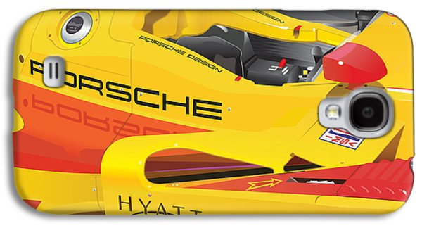 2008 Rs Spyder Illustration Galaxy S4 Case by Alain Jamar