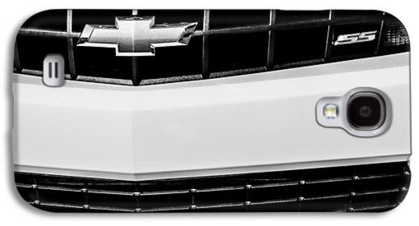 2010 Chevrolet Nickey Camaro Ss Grille Emblem -0078bw Galaxy S4 Case by Jill Reger