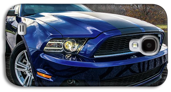 Galaxy S4 Case featuring the photograph 2014 Ford Mustang by Randy Scherkenbach