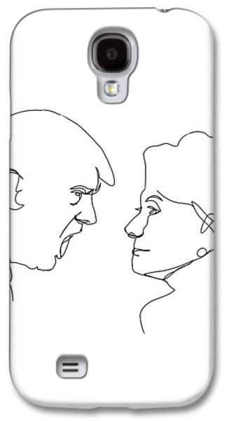 2016 Election Galaxy S4 Case by Harold Belarmino