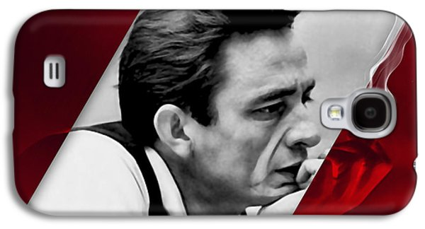 Johnny Cash Collection Galaxy S4 Case by Marvin Blaine