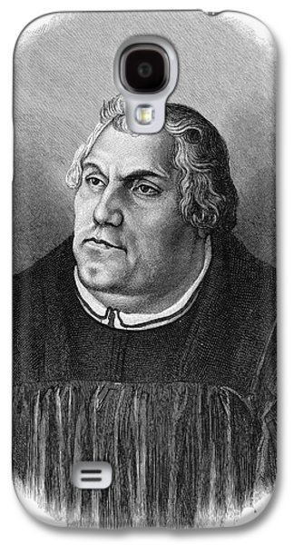 Reformer Galaxy S4 Cases - Martin Luther (1483-1546) Galaxy S4 Case by Granger
