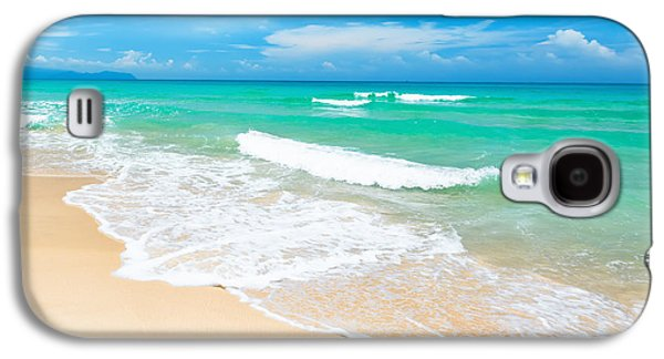 Beach Galaxy S4 Case by MotHaiBaPhoto Prints