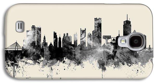 Boston Galaxy S4 Case - Boston Massachusetts Skyline by Michael Tompsett