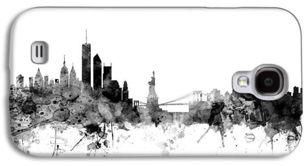 New York Skyline Galaxy S4 Case by Michael Tompsett