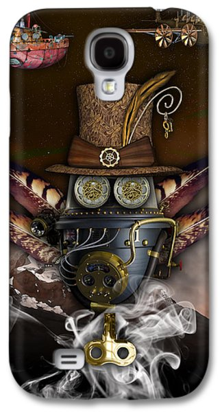 Steampunk Art Galaxy S4 Case
