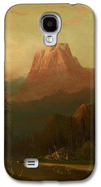 Schafer Oil On Board, Galaxy S4 Case by MotionAge Designs