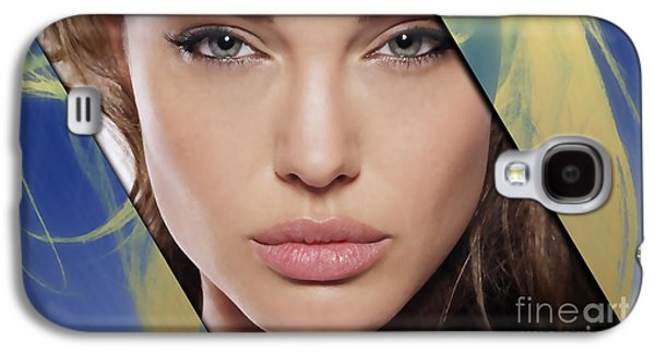 Angelina Jolie Collection Galaxy S4 Case