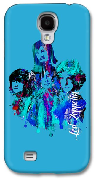 Led Zeppelin Collection Galaxy S4 Case by Marvin Blaine