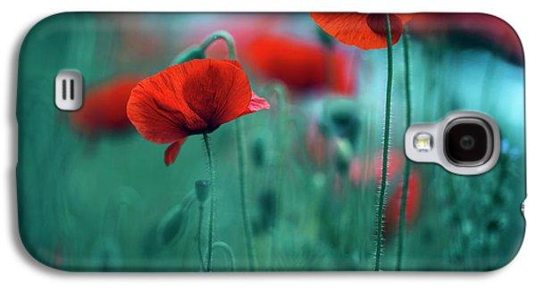 Poppy Meadow Galaxy S4 Case