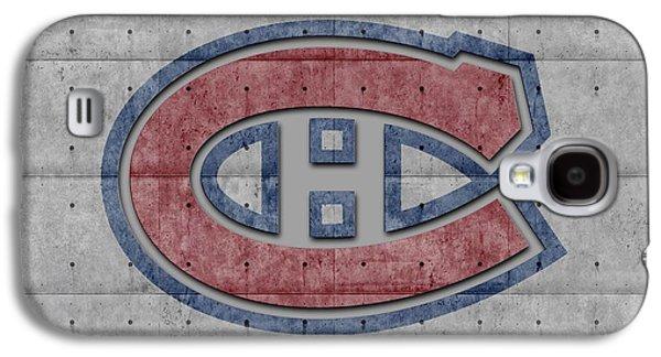 Montreal Canadiens Galaxy S4 Case by Joe Hamilton