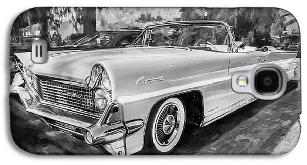 1959 Lincoln Continental Town Car Mk Iv Painted Bw   Galaxy S4 Case by Rich Franco