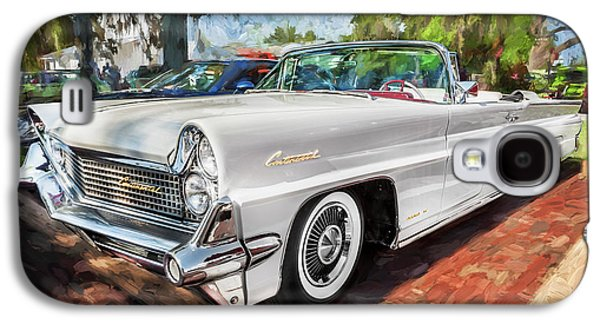 1959 Lincoln Continental Town Car Mk Iv Painted  Galaxy S4 Case by Rich Franco