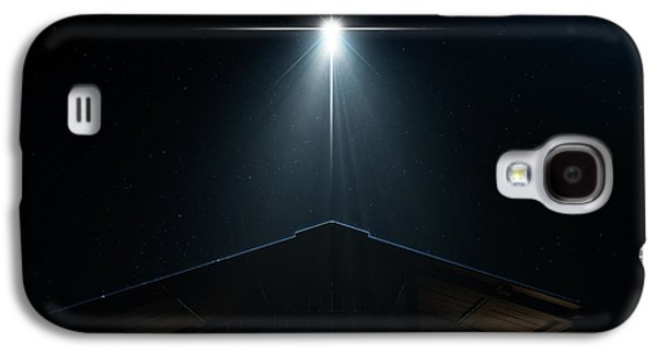 Abstract Nativity Scene Galaxy S4 Case by Allan Swart