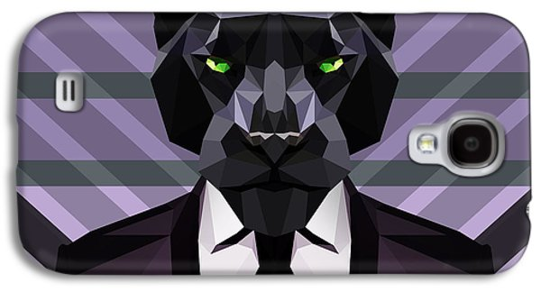Black Panther Galaxy S4 Case by Gallini Design