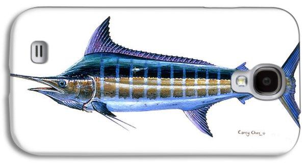 Blue Marlin Galaxy S4 Case by Carey Chen