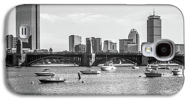 Boston Skyline Black And White Photo Galaxy S4 Case