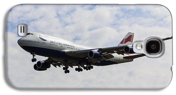 British Airways Boeing 747 Galaxy S4 Case