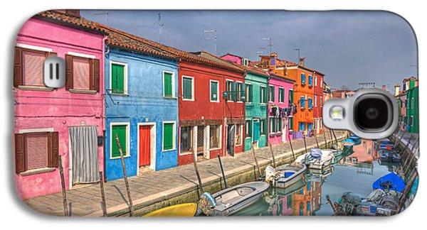 Burano - Venice - Italy Galaxy S4 Case by Joana Kruse