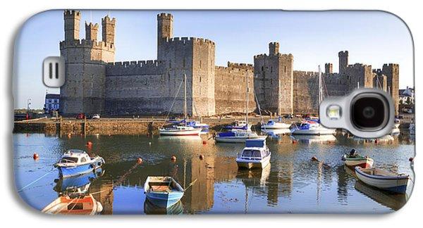 Caernafon Castle - Wales Galaxy S4 Case by Joana Kruse