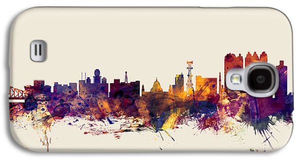 Calcutta Kolkata India Skyline Galaxy S4 Case