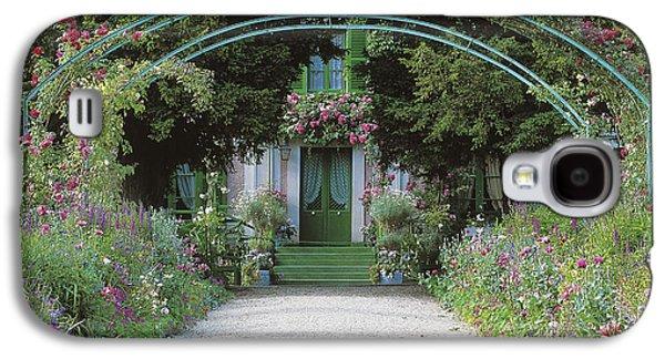 Claude Monet's Garden At Giverny Galaxy S4 Case