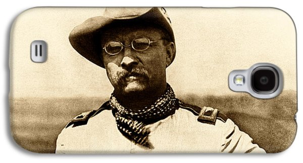 Colonel Theodore Roosevelt Galaxy S4 Case by War Is Hell Store