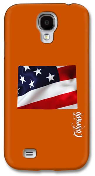 Colorado State Map Collection Galaxy S4 Case by Marvin Blaine