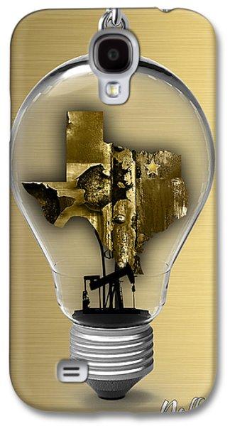 Dallas Texas Map Collection Galaxy S4 Case
