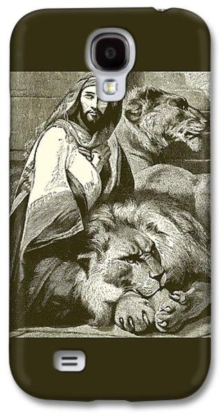 Daniel In The Lions Den Galaxy S4 Case