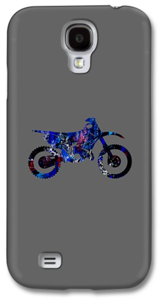 Dirt Bike Collection Galaxy S4 Case by Marvin Blaine
