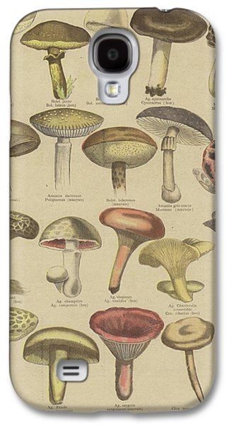 Edible And Poisonous Mushrooms Galaxy S4 Case