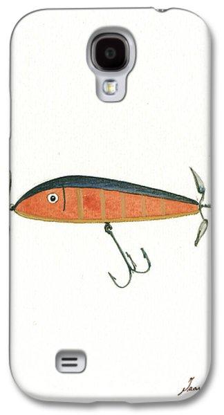Fishing Lure  Galaxy S4 Case by Juan Bosco