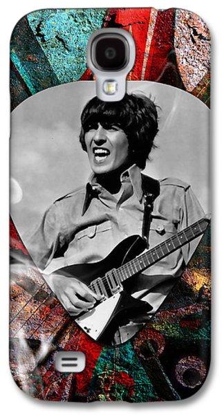 George Harrison The Beatles Art Galaxy S4 Case