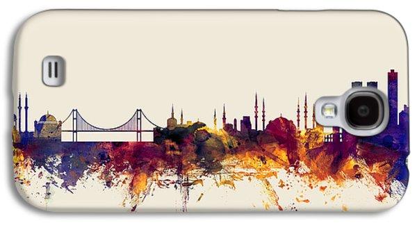 Istanbul Turkey Skyline Galaxy S4 Case