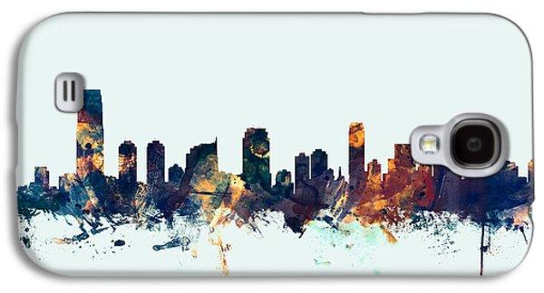 Jersey City New Jersey Skyline Galaxy S4 Case
