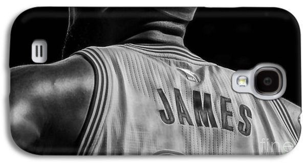 Lebron James Collection Galaxy S4 Case by Marvin Blaine