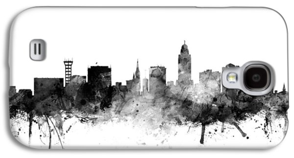 Lincoln Nebraska Skyline Galaxy S4 Case by Michael Tompsett