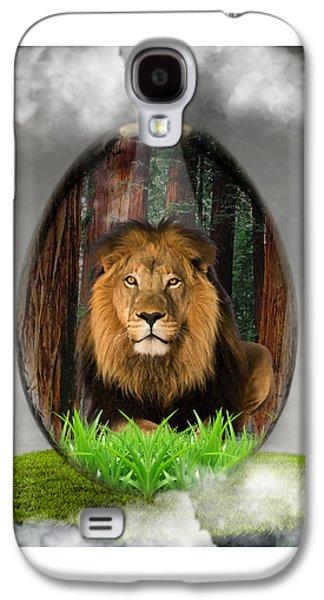 Lion Art Galaxy S4 Case