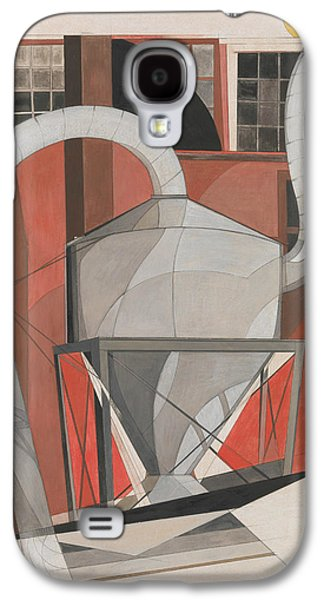 Machinery Galaxy S4 Case by Charles Demuth