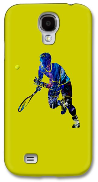 Mens Tennis Collection Galaxy S4 Case by Marvin Blaine