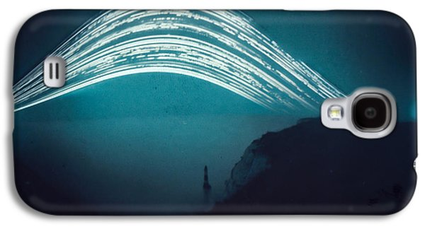 3 Month Exposure At Beachy Head Lighthouse Galaxy S4 Case