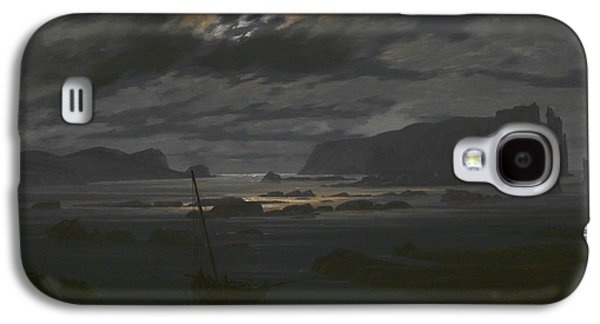 Northern Sea In The Moonlight Galaxy S4 Case