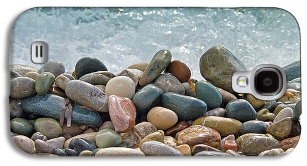 Close Photographs Galaxy S4 Cases - Ocean Stones Galaxy S4 Case by Stylianos Kleanthous