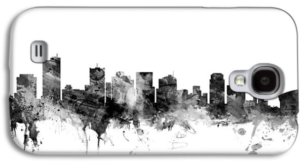 Phoenix Arizona Skyline Galaxy S4 Case by Michael Tompsett