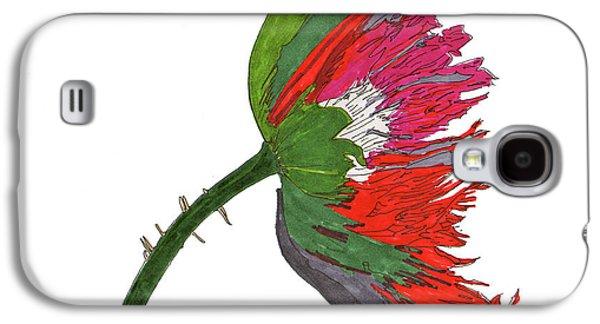 Pin Ink Water Color Galaxy S4 Case by Jay Pumphrey Jr